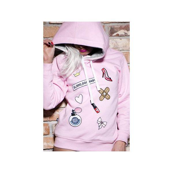 2258a4dc90 Bluza Milion Dollar Baby - Bluzy damskie marki Łap nas. Za 189.00 zł. -  Bluzy damskie - Bluzy i swetry damskie - Odzież damska - Dla kobiet -  Chillizet.pl