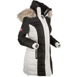 Płaszcz outdoorowy bonprix czarny. Płaszcze damskie marki FOUGANZA. Za 269.99 zł.