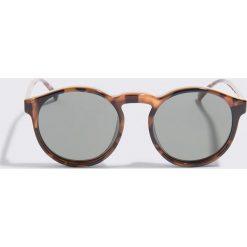 Le Specs Okulary przeciwsłoneczne Cubanos - Brown. Brązowe okulary przeciwsłoneczne damskie Le Specs. W wyprzedaży za 184.07 zł.