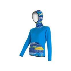 Sensor Bluza Z Kapturem Tecnostretch Blue S. Niebieskie bluzy damskie Sensor, z materiału. W wyprzedaży za 300.00 zł.