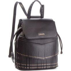 Plecak LIU JO - M Backpack Brera N68194 E0031  Nero 22222. Czarne plecaki damskie Liu Jo, ze skóry ekologicznej, eleganckie. Za 649.00 zł.