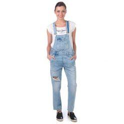 Pepe Jeans Kombinezon Damski Jodie Xs Niebieski. Niebieskie jeansy damskie Pepe Jeans. W wyprzedaży za 309.00 zł.