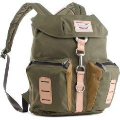 Plecak DOUGHNUT - D200-4614-F  Nevada Forest Green X Khaki. Zielone plecaki damskie Doughnut, z materiału. Za 299.00 zł.