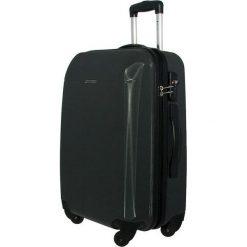 Średnia Twarda Walizka PUCCINI - PC005B-8 Czarny. Czarne walizki damskie Puccini, z tworzywa sztucznego. W wyprzedaży za 239.00 zł.