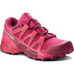 Buty SALOMON - Speedcross Vario 2 Gtx W GORE-TEX 401256 21 V0 Cerise./Beet Red/Pink Yarrow. Czerwone obuwie sportowe damskie Salomon, z gore-texu. W wyprzedaży za 449.00 zł.