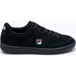 Fila - Buty Portland S Low. Czarne buty sportowe męskie Fila, z gumy. W wyprzedaży za 269.90 zł.
