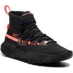 Buty UNDER ARMOUR - Ua Sc 3Zero II 3020613-002 Blk. Czarne buty sportowe męskie Under Armour, z materiału. W wyprzedaży za 309.00 zł.