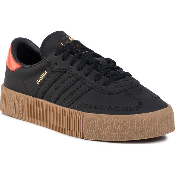 Buty adidas Sambarose W B28156 CblackFtwwhtGum5