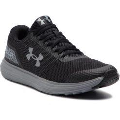 Buty UNDER ARMOUR - Ua Surge 3020336-004 Blk. Czarne buty sportowe męskie Under Armour, z materiału. W wyprzedaży za 169.00 zł.