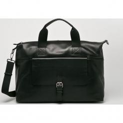 Strellson - Torba skórzana. Czarne torby na laptopa męskie Strellson, w paski, z materiału. W wyprzedaży za 899.90 zł.