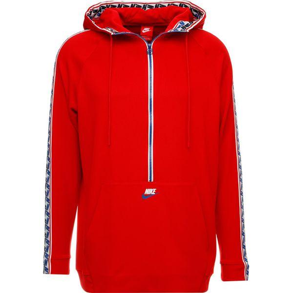 e2fd64546 Nike Sportswear TAPED HALF Bluza z kapturem university red/gym blue ...