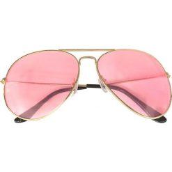 Okulary przeciwsłoneczne bonprix złoty kolor - kolor czerwonego złota. Okulary przeciwsłoneczne damskie marki QUECHUA. Za 34.99 zł.