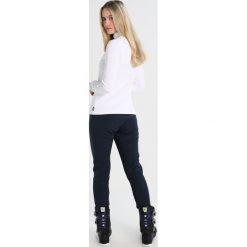 Colmar SCI DONNA Spodnie narciarskie blue/black. Spodnie sportowe damskie Colmar, z materiału, sportowe. W wyprzedaży za 755.10 zł.