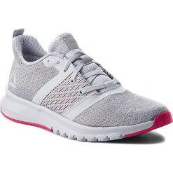 Buty Reebok - Print Lite Rush CN2612  Grey/Shadow/Rose. Szare obuwie sportowe damskie Reebok, z materiału. W wyprzedaży za 219.00 zł.