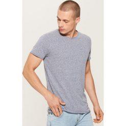 T-shirt basic - Granatowy. T-shirty męskie marki Giacomo Conti. W wyprzedaży za 19.99 zł.