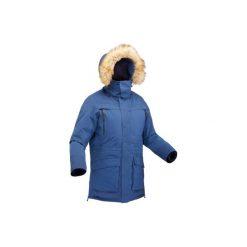 Kurtka turystyczna SH500 ultra-warm męska. Czarne kurtki męskie QUECHUA. Za 399.99 zł.