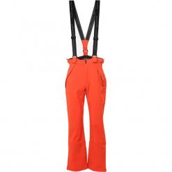 Spodnie narciarskie w kolorze pomarańczowym. Spodnie snowboardowe męskie marki WED'ZE. W wyprzedaży za 204.95 zł.