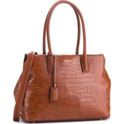 Torebka PUCCINI - BT28598 Brąz 2. Brązowe torebki do ręki damskie Puccini, ze skóry ekologicznej. W wyprzedaży za 223.00 zł.