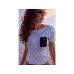 T-shirt 3D(lux) pocket - biała. Białe t-shirty męskie Desert snow, z bawełny. Za 69.00 zł.
