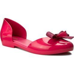 Półbuty MELISSA - Angel Ad 31859 Dark Pink 01148. Czerwone półbuty damskie Melissa, z tworzywa sztucznego. W wyprzedaży za 189.00 zł.
