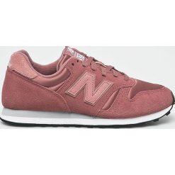 New Balance - Buty WL373PSP. Różowe obuwie sportowe damskie New Balance, z materiału. Za 299.90 zł.