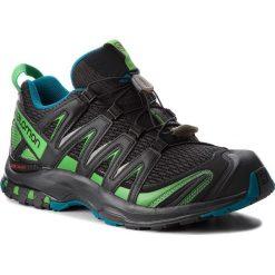 Buty SALOMON - Xa Pro 3D 404711 30 V0  Black/Deep Lagoon/Onlime Lime. Czarne buty sportowe męskie Salomon, z materiału. W wyprzedaży za 399.00 zł.