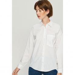 Koszula oversize - Biały. Białe koszule damskie Sinsay. Za 59.99 zł.
