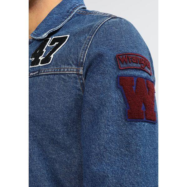 c955bb7906815 Wrangler HAWKINS Kurtka jeansowa mid stone - Kurtki męskie marki ...