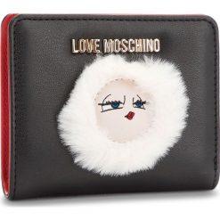 Mały Portfel Damski LOVE MOSCHINO - JC5590PP06KJ0000 Nero. Czarne portfele damskie Love Moschino, ze skóry ekologicznej. Za 419.00 zł.