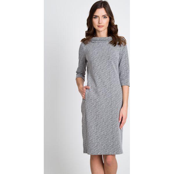 4eb4194b65 Szara sukienka z półgolfem QUIOSQUE - Sukienki damskie marki ...
