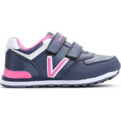 Granatowo-Różowe Buty Sportowe Pink Air. Czerwone buty sportowe dziewczęce Born2be, z materiału. Za 49.99 zł.