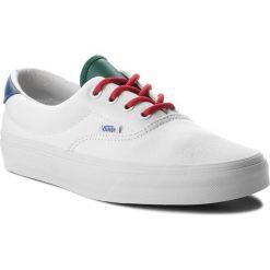 Tenisówki VANS - Era 59 VN0A38FSQKI (Vans Yacht Club) True Wh. Białe trampki męskie Vans, z gumy. W wyprzedaży za 219.00 zł.