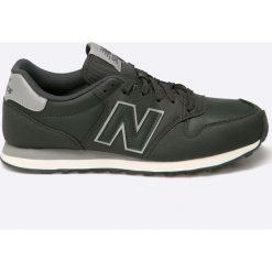 New Balance - Buty GM500SKG. Szare buty sportowe męskie New Balance, z materiału. W wyprzedaży za 219.90 zł.