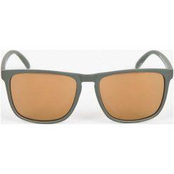 DC - Okulary. Brązowe okulary przeciwsłoneczne męskie DC, z materiału. W wyprzedaży za 119.90 zł.