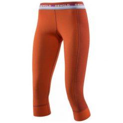 Devold Spodnie Damskie Hiking Woman 3/4 Long Johns Brick M. Różowe spodnie sportowe damskie Devold, ze skóry. W wyprzedaży za 209.00 zł.