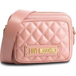 Torebka LOVE MOSCHINO - JC4004PP17LA0600 Rosa. Czerwone listonoszki damskie Love Moschino, ze skóry ekologicznej. Za 719.00 zł.