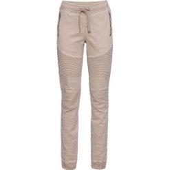 """Spodnie jogger bonprix brunatny """"used"""". Brązowe spodnie materiałowe damskie bonprix. Za 149.99 zł."""