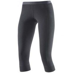 Devold Spodnie Damskie Hiking Woman 3/4 Long Johns Black L. Czarne spodnie sportowe damskie Devold, ze skóry. W wyprzedaży za 209.00 zł.