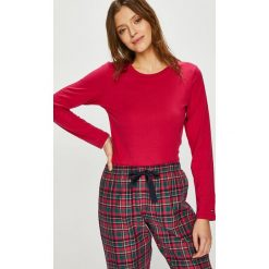 Tommy Hilfiger - Piżama. Czerwone piżamy damskie Tommy Hilfiger, z bawełny. Za 349.90 zł.