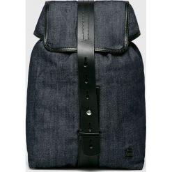 G-Star Raw - Plecak. Czarne plecaki damskie G-Star Raw, z bawełny, retro. W wyprzedaży za 429.90 zł.
