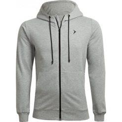 Bluza męska BLM601 - chłodny jasny szary melanż - Outhorn. Szare bluzy męskie Outhorn, melanż. W wyprzedaży za 79.99 zł.