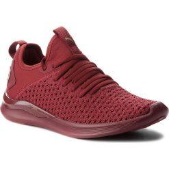 Buty PUMA - Ignite Flash Varsity 191114 02 Pomegranate/Metallic Gold. Czerwone obuwie sportowe damskie Puma, z materiału. W wyprzedaży za 259.00 zł.