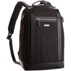Plecak WITTCHEN - 86-3U-215-1  Czarny. Czarne plecaki damskie Wittchen, z materiału. W wyprzedaży za 369.00 zł.