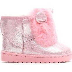 Różowe Śniegowce It Is Time. Buty zimowe dziewczęce marki bonprix. Za 59.99 zł.