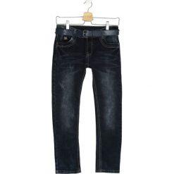 Granatowe Jeansy On the Street. Jeansy dla chłopców marki Reserved. Za 29.99 zł.