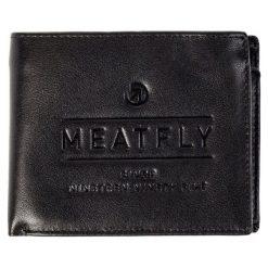 Meatfly Portfel Męski Czarny Seaway. Czarne portfele męskie Meatfly, ze skóry. W wyprzedaży za 129.00 zł.