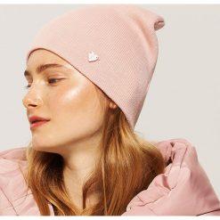 Czapka beanie - Różowy. Czerwone czapki i kapelusze damskie House. Za 19.99 zł.