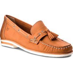 Mokasyny CAPRICE - 9-24205-20 Orange Nubuc 609. Mokasyny damskie marki Nessi. W wyprzedaży za 159.00 zł.