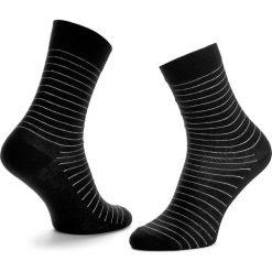 Skarpety Wysokie Unisex HAPPY SOCKS - SB01-999 Czarny. Skarpety męskie Happy Socks, z bawełny. Za 34.90 zł.