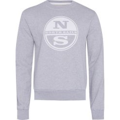 Bluza NORTH SAILS Szary. Bluzy męskie North Sails, z dzianiny. Za 192.00 zł.